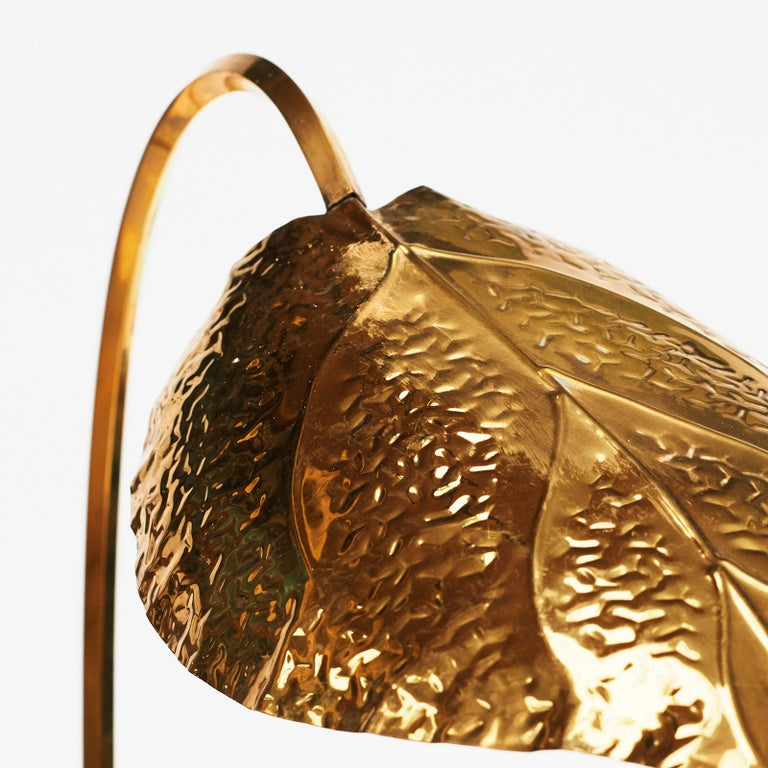 Decorative Table Lamp in the Form of Palm Leaves For Sale ...