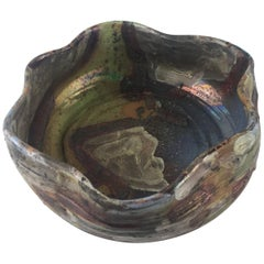 Decorative Terracotta Bowl or Vide Poche