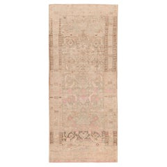 Decorative Tribal Antique Persian Malayer Runner. Size: 4 ft 1 in x 9 ft 8 in