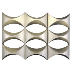 Decorative Wall Panel, Element of French Architecture, 1970