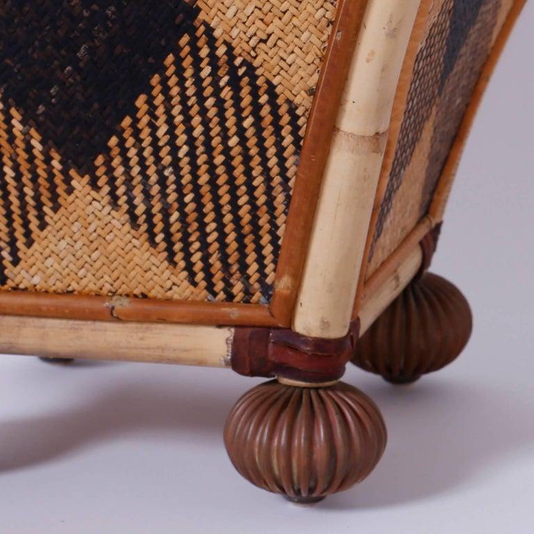American Decorative Waste Basket For Sale