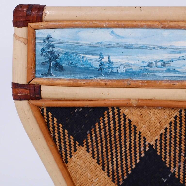 Decorative Waste Basket For Sale 1