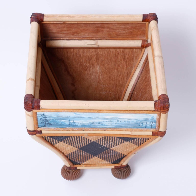 Decorative Waste Basket For Sale 2