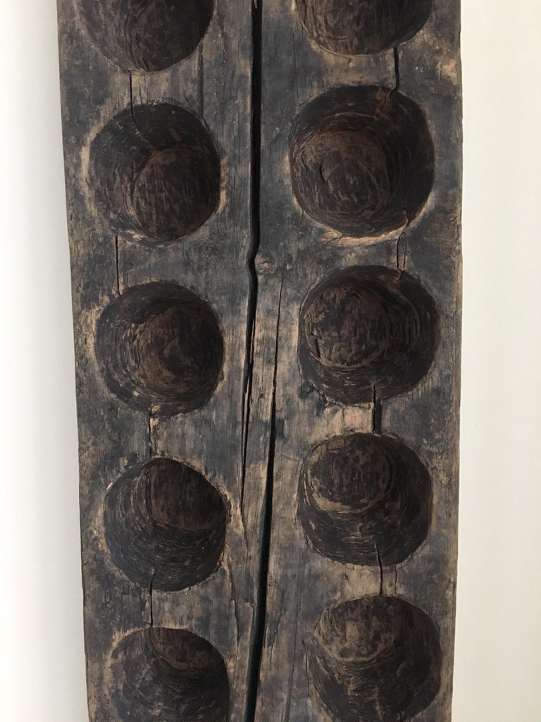 Mexican Decorative Wood Mold from Mexico, 1970s For Sale