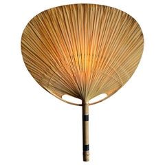 Ded Stock Vintage Uchiwa Wall Lamp by Ingo Maurer