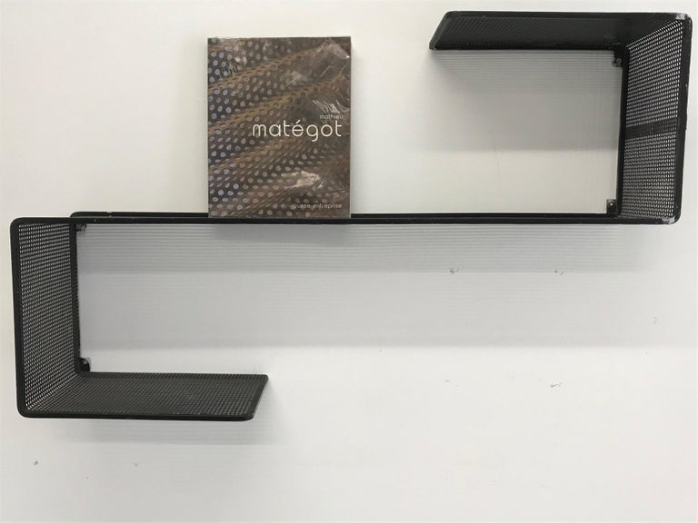 Dedal wall shelf by Mathieu Mategot
