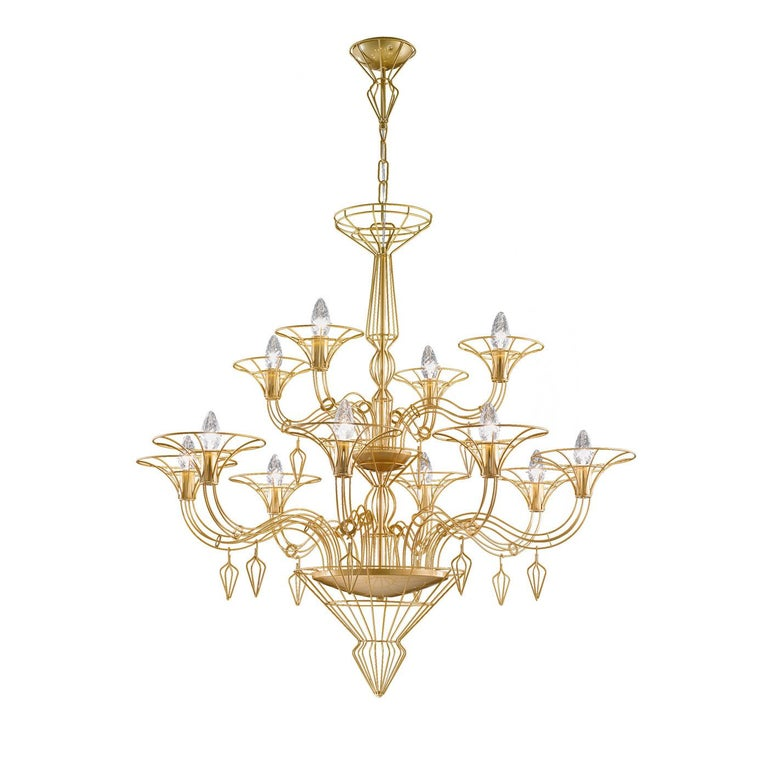 Modern Dedalo Ø 100 Chandelier For Sale