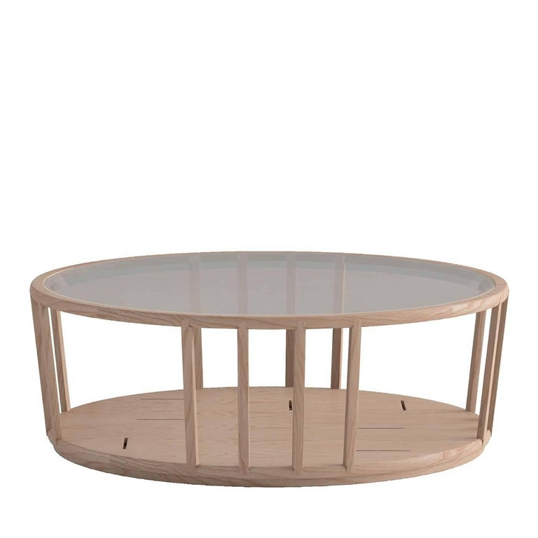 Dedalo Oval Coffee Table For Sale At 1stdibs