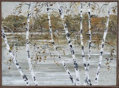 Autumn Birches, Wallkill River, New Jersey
