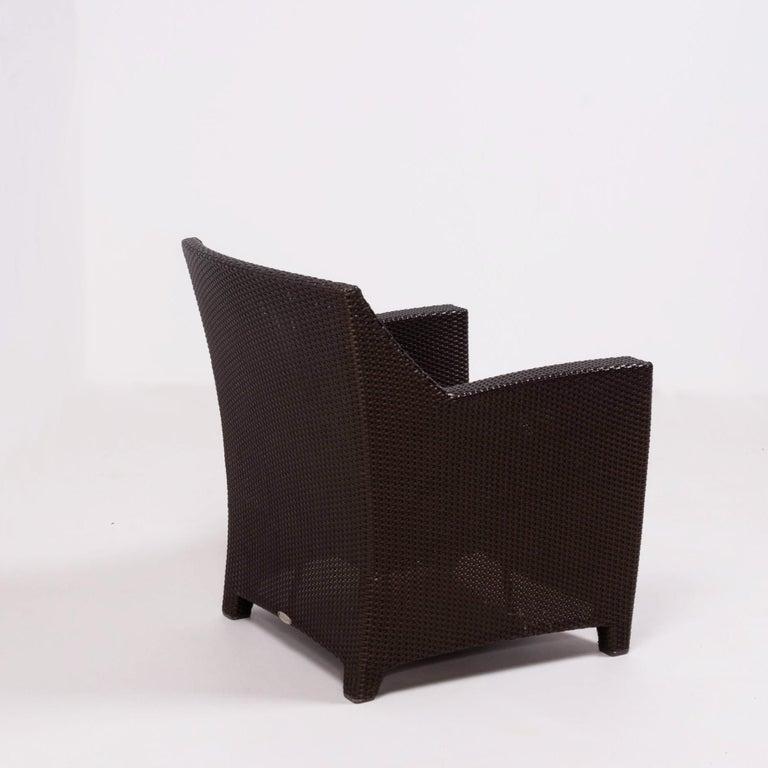 Contemporary Dedon's Barcelona Garden Lounge Set For Sale