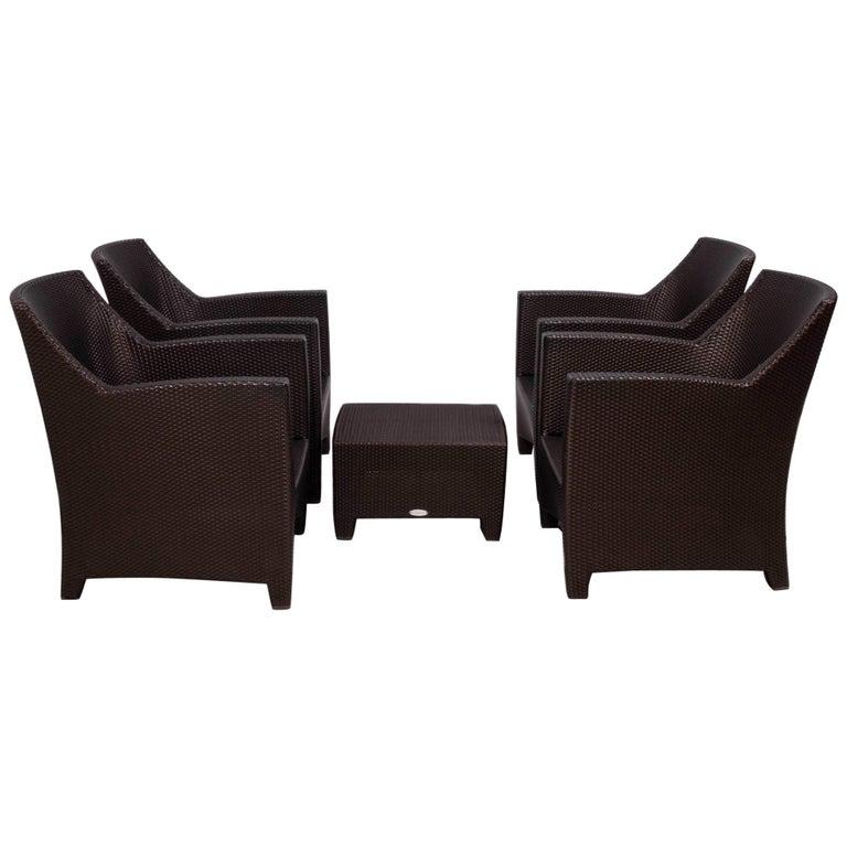 Dedon's Barcelona Garden Lounge Set For Sale