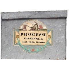Antique 19th Century Italian Deed Boxes