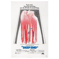 """Deep End"" 1971 U.S. One Sheet Film Poster"