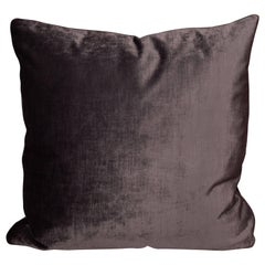 Deep Purple Velvet Pillows