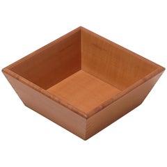 Gae Aulenti Deep Vassoio Wooden Tray without Handles for Bottega Ghianda
