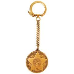 Deer Coin Keychain, Antler Token Keyring