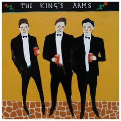 'Defenders of the Realm' Portrait Painting by Alan Fears Folk Art Pop Art