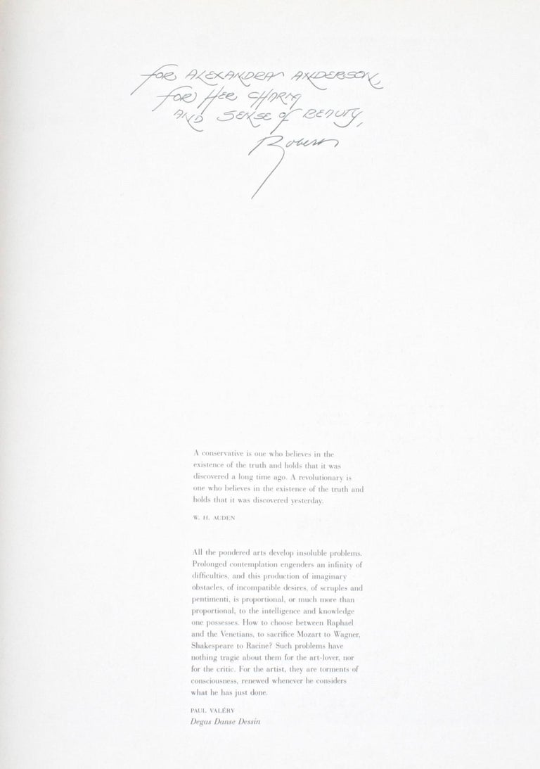 American Degas by Robert Gordon and Andrew Forge, Signed and Inscribed Edition For Sale