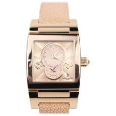 DeGrisogono Instrumentino 18 Karat Gold Automatic Wristwatch