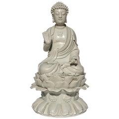Dehua Blanc De Chine Buddha