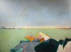 """Elementary Memories,"" Oil on Canvas Landscape by Deirdre Schanen"