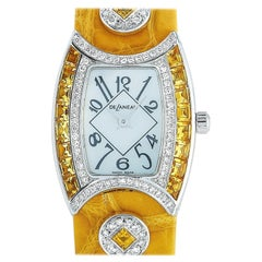 DeLaneau First Lady Watch LFL074 WG NN082