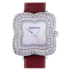 DeLaneau Les Delicates Watch LBG905 WG NR001