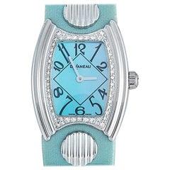 DeLaneau Princess Watch IMFL076 WG NB082