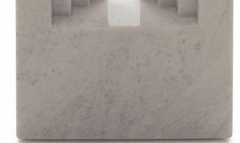 Delfi Table, Original Carrara Marble Table by Carlo Scarpa, 1970s In Good Condition For Sale In Roma, IT