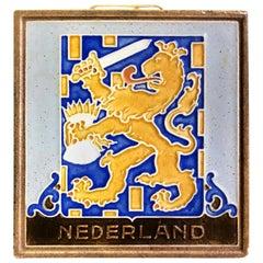 """Delft Westraven """"Nederland"""" Holland Ceramic Pottery Tile"""