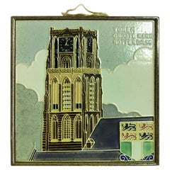 Delft Westraven Rotterdam Holland Ceramic Pottery Tile