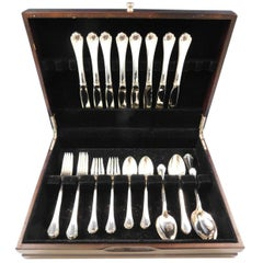Delicacy by Lunt Sterling Silver Flatware Set for 8 Service 42 Pieces
