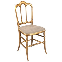 Delicate Chair in the Style of the 19th Century