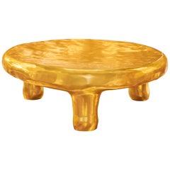 Delight Coffee Table in Brass by Scarlet Splendour