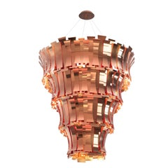 Etta Chandelier in Copper