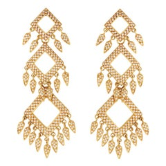 Ileana Makri Delilah Diamond Pavé Earrings