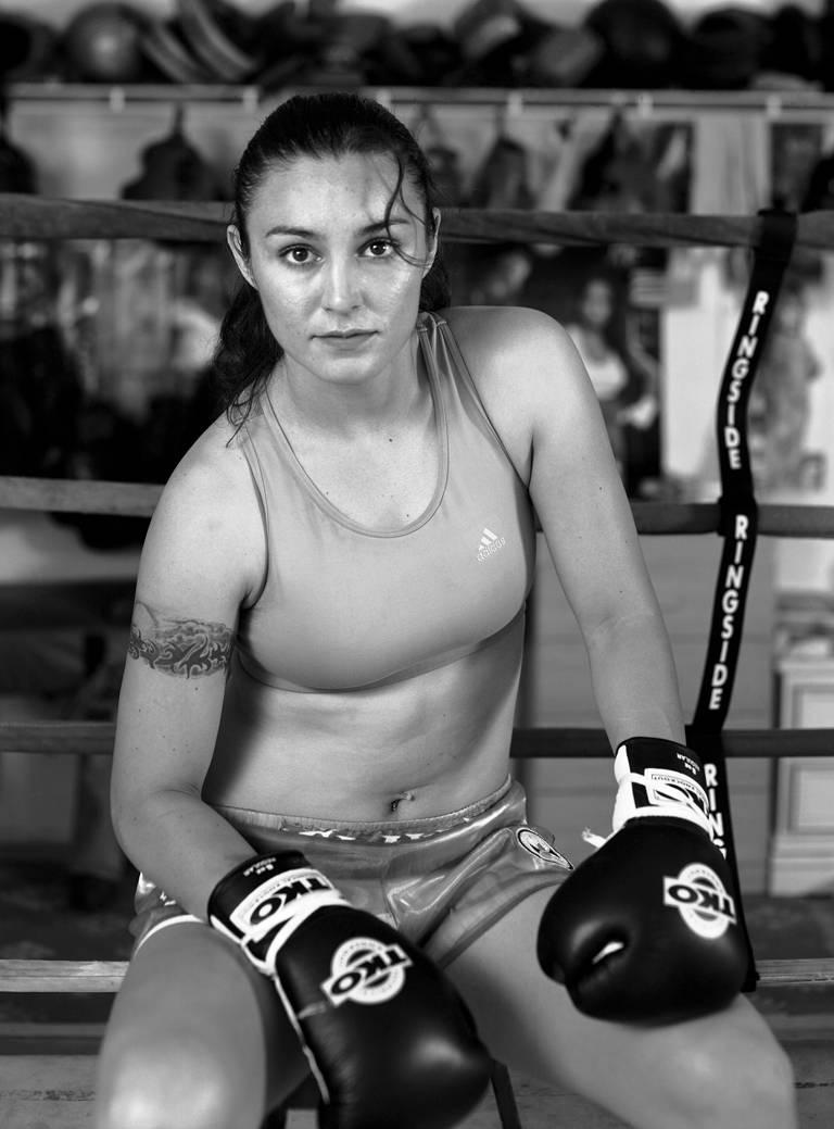 Delilah Montoya Portrait Photograph - Jackie Chavez