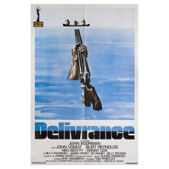 """Deliverance"" R1990s French Half Grande Film Poster"