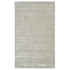 Deloris, Contemporary Solid Handmade Area Rug, Oat