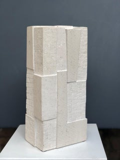 Being Stone (Unity series), Abstract Geometric Sculpture