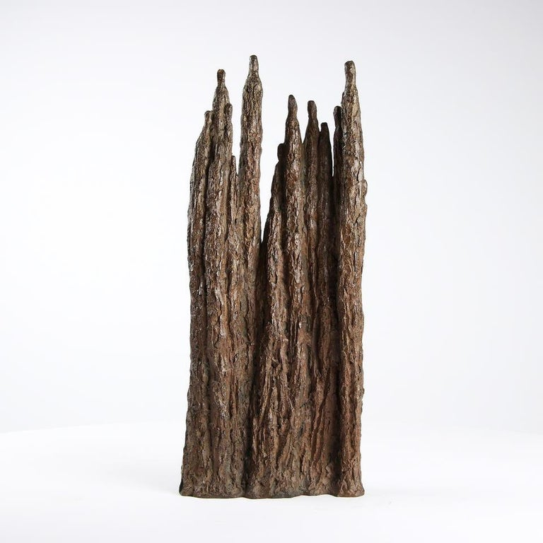 Cathedral (bronze sculpture, group) For Sale 1