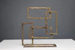 Composition V, Abstract Bronze Sculpture