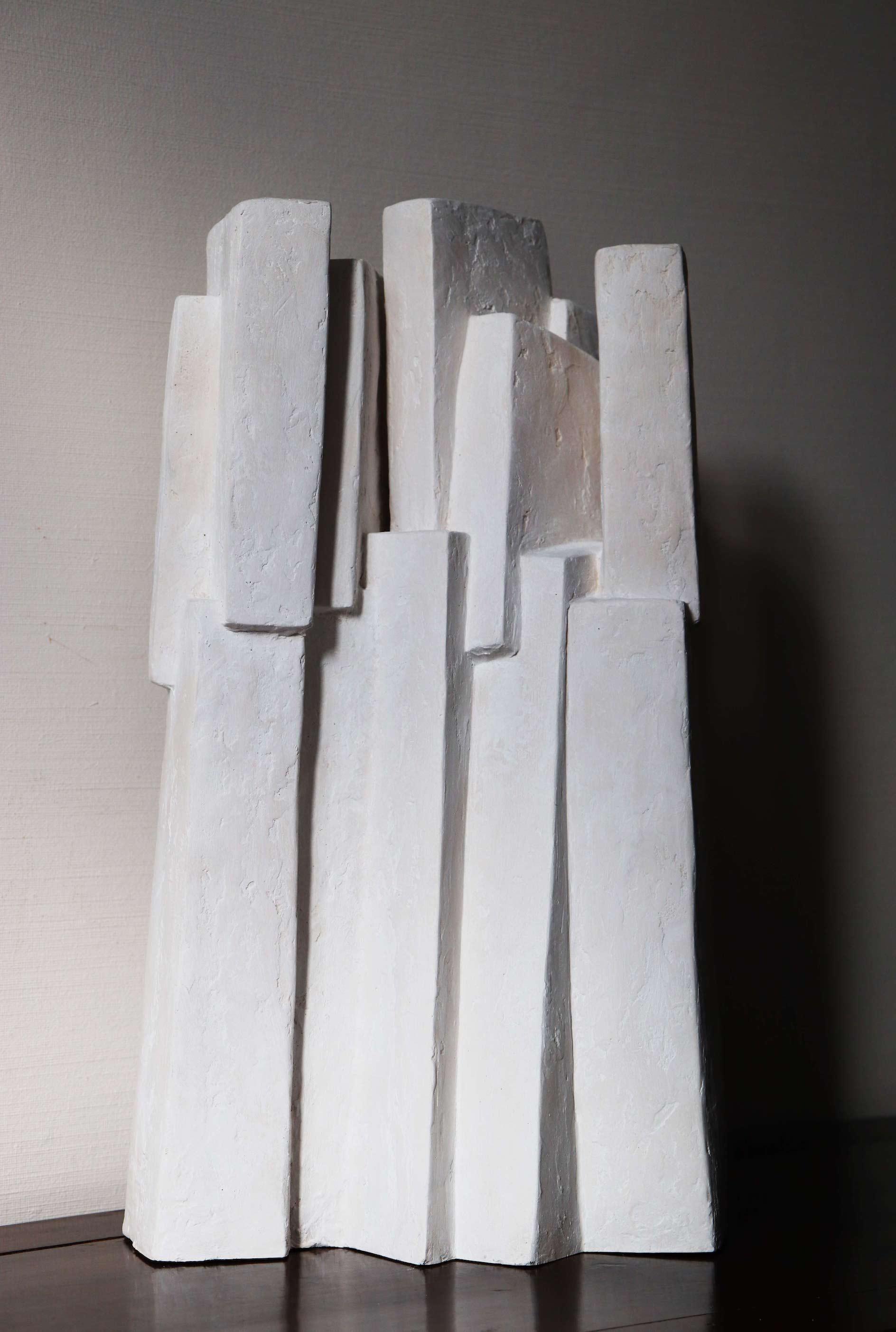 Ensemble III (Geometric Sculpture, Resin)