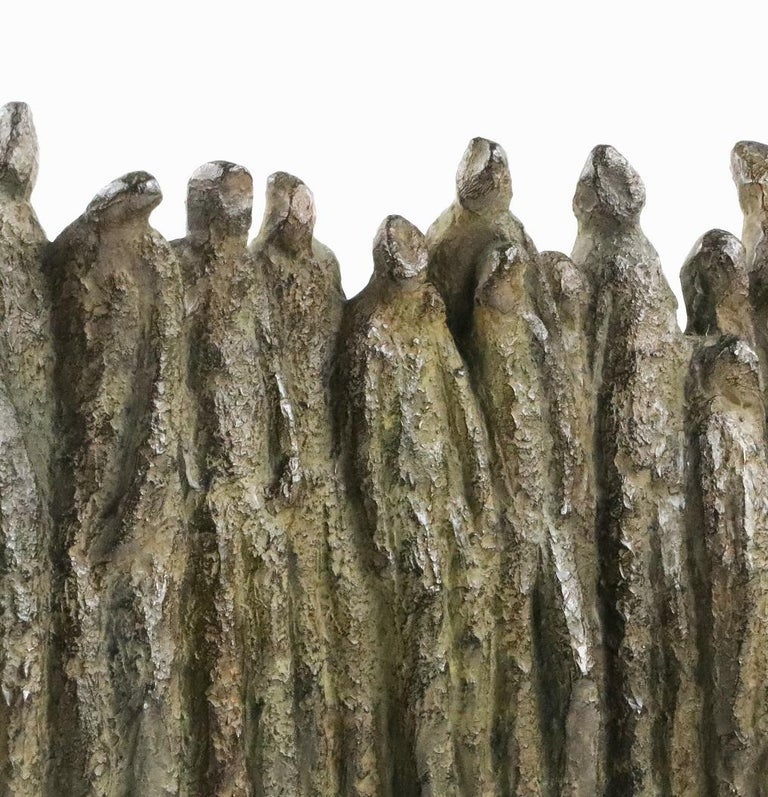 Group II is a bronze sculpture by French contemporary artist Delphine Brabant.  This work is part of the