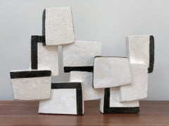 Hyphen, Abstract Geometric Sculpture