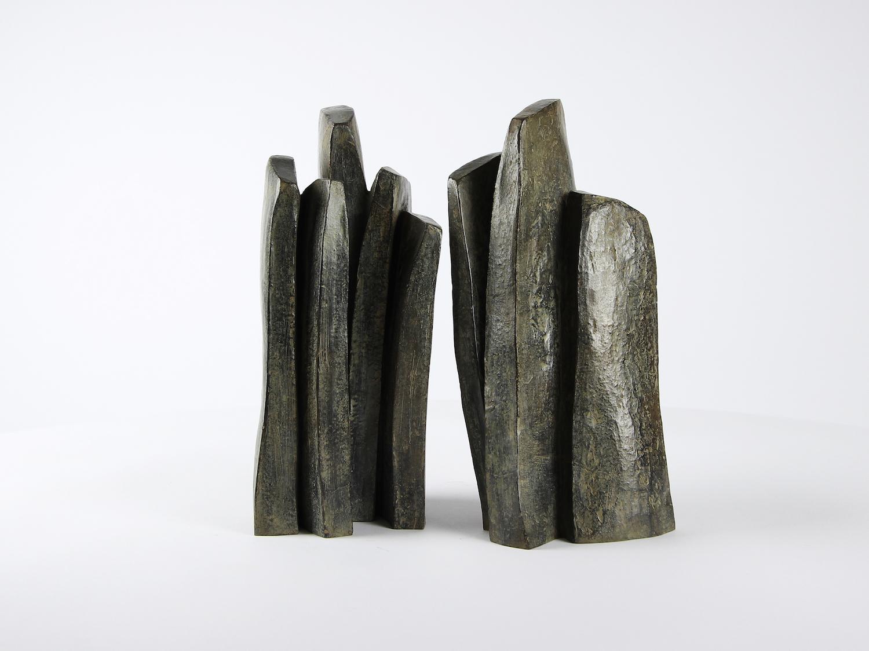 Lignée, Abstract Bronze Sculpture