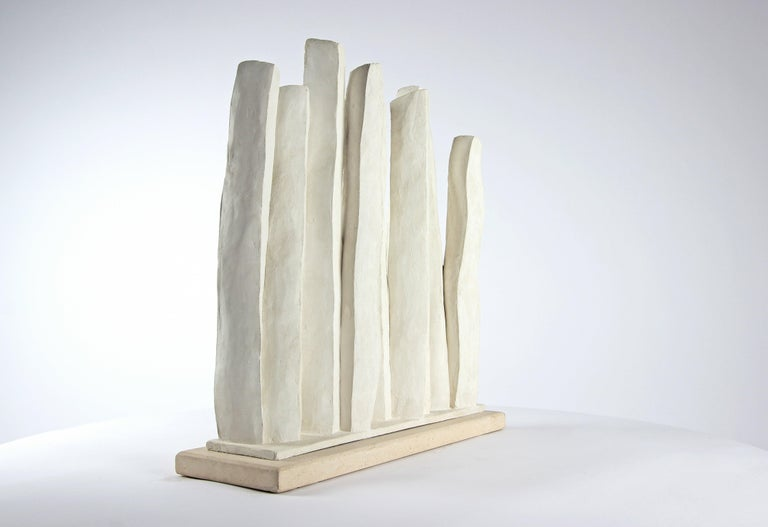 Silhouettes, Semi Abstract Sculpture For Sale 1