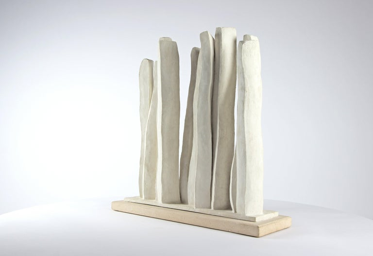 Silhouettes, Semi Abstract Sculpture For Sale 2