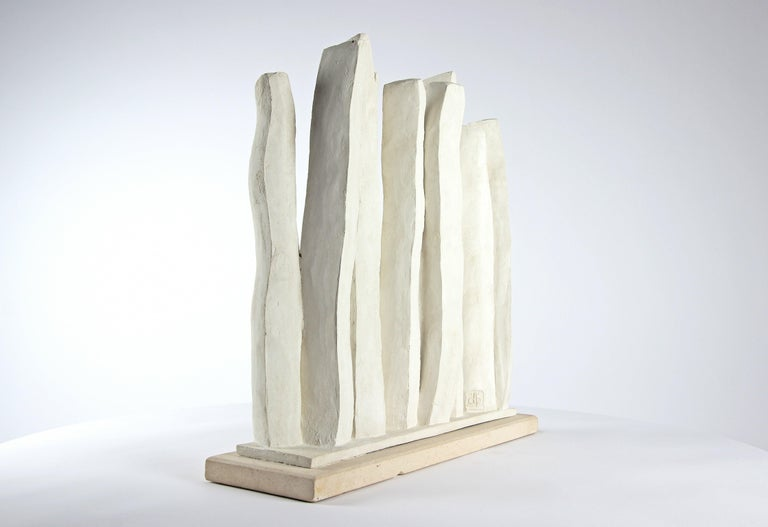 Silhouettes, Semi Abstract Sculpture For Sale 4