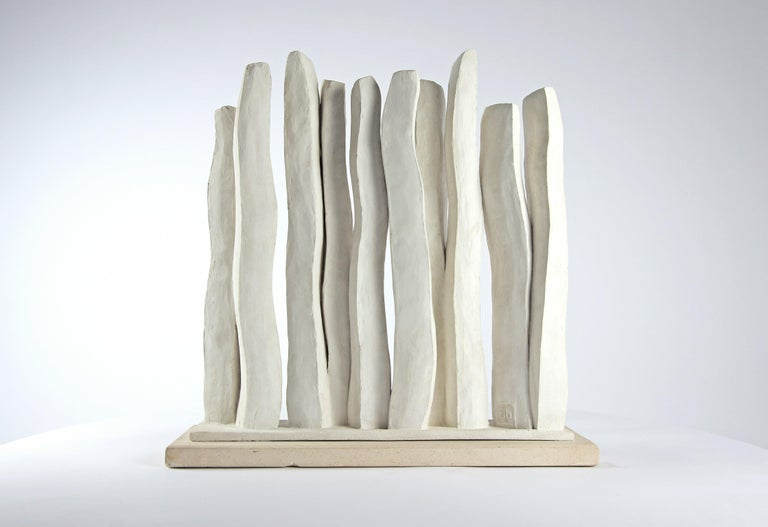 Silhouettes, Semi Abstract Sculpture For Sale 5